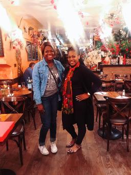 Myya & me at Il Gigolo