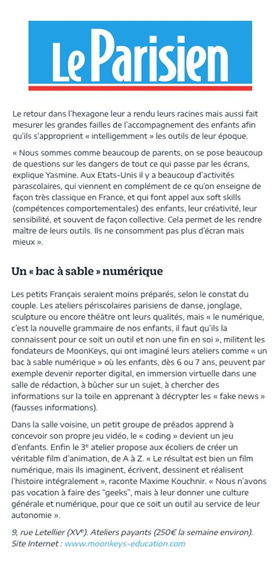 Article parisien 2