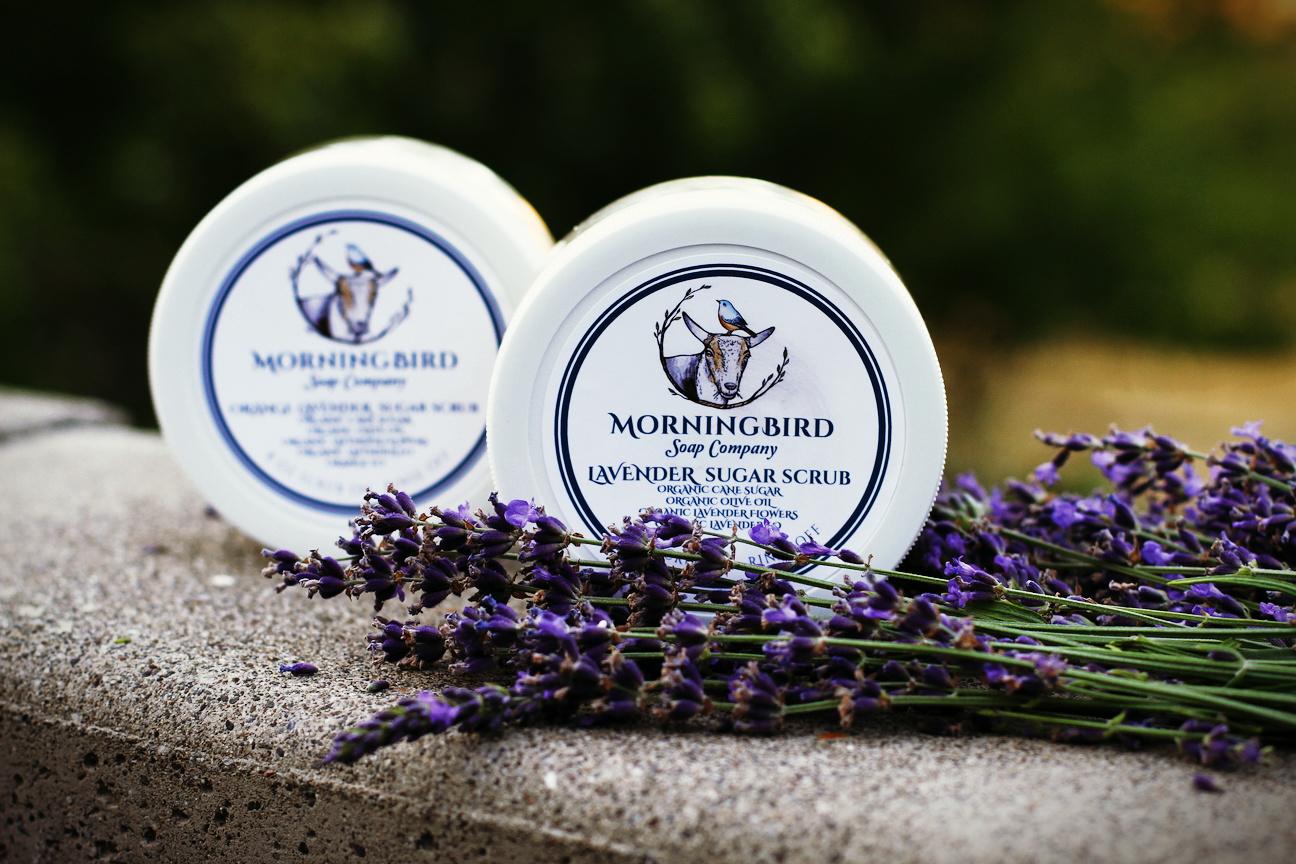 Lavender Sugar Scrub -