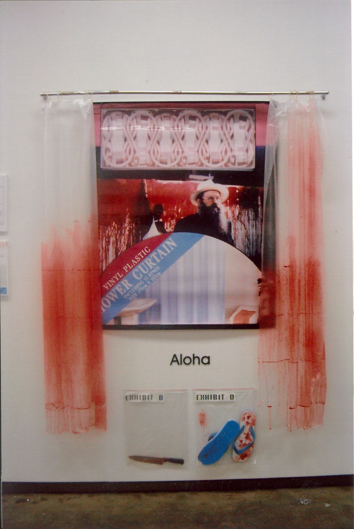 2 Hermann Nitsch Shower Curtain.jpg