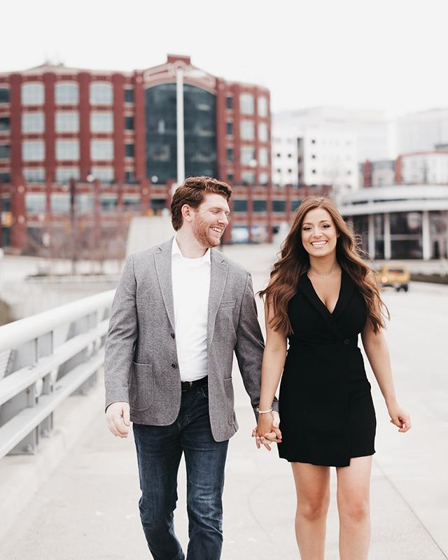 These two are the sweetest! Was SO happy I was able to shoot their engagement photos when I was home in Ohio