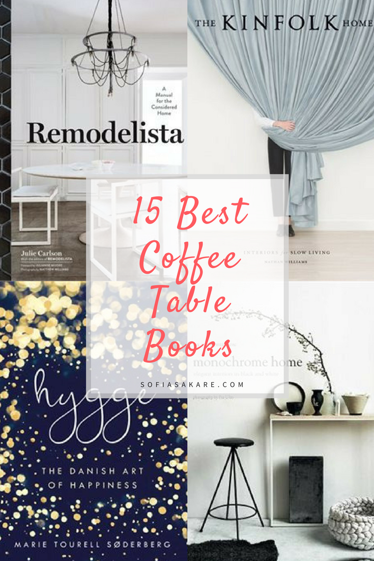 Best Coffee Table Books every interior designer has at home