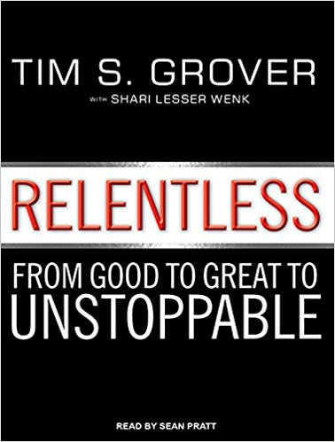 TIM GROVER'S RELENTLESS - Tim Grover has coached and trained some of the most successful NBA players of all time - including Michael Jordan. It's a short and sweet read guaranteed to get you pumped up to work harder at whatever you choose as your path in life. For a taste of his attitude to training, check out his Twitter.