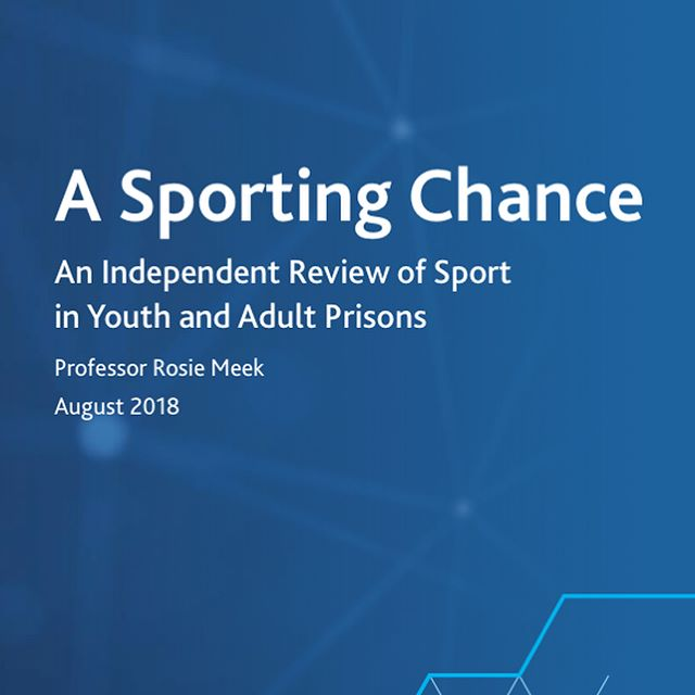 We've been featured as an example of best practice in the Ministry of Justice's review into how sport/fitness can reduce reoffending.. • . We may have closed our doors on May 2018 but this is one of the ways we're ensuring a legacy for The Hard Yard team's work.