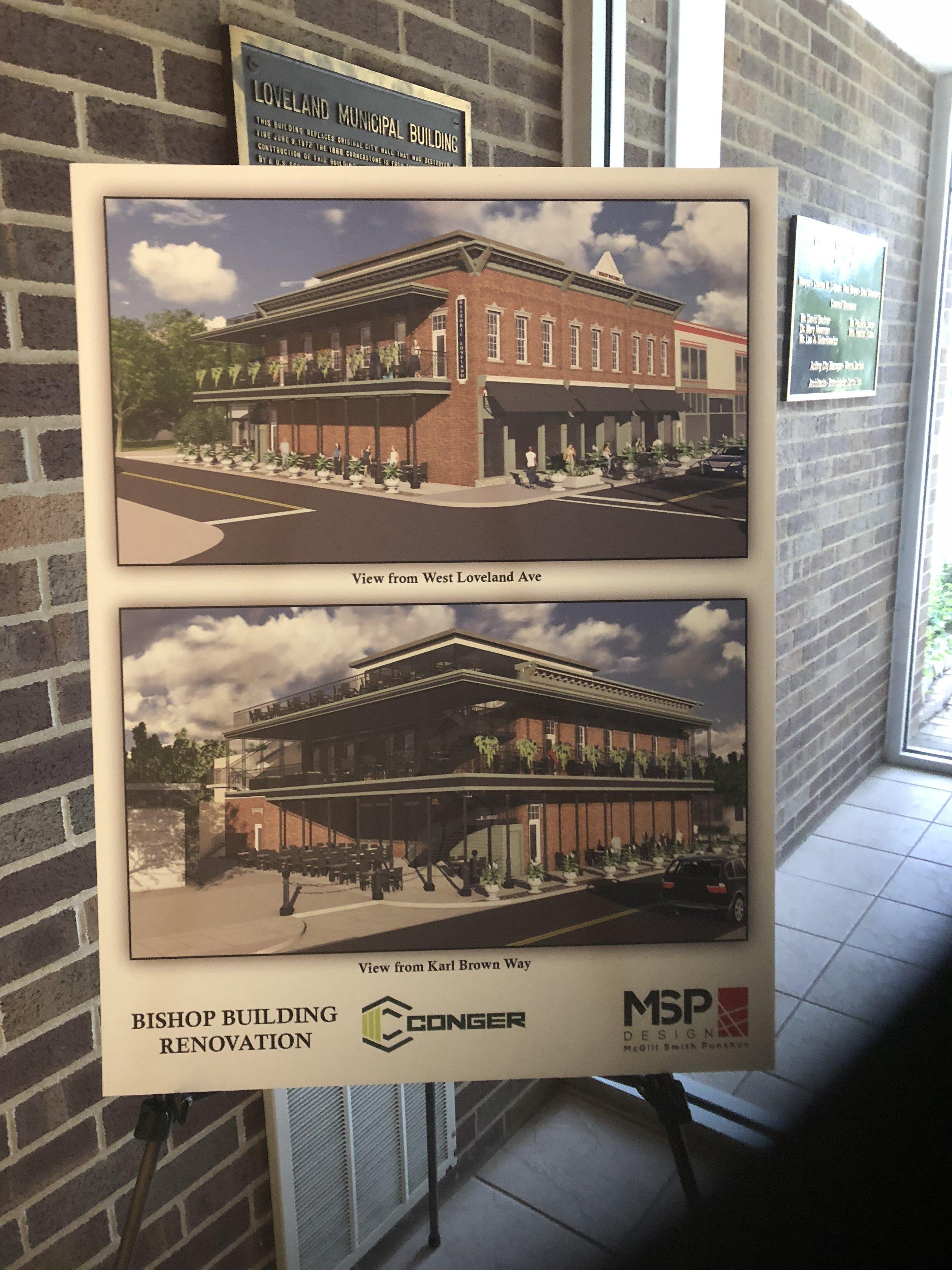 Bishop Building - Rendering of Design