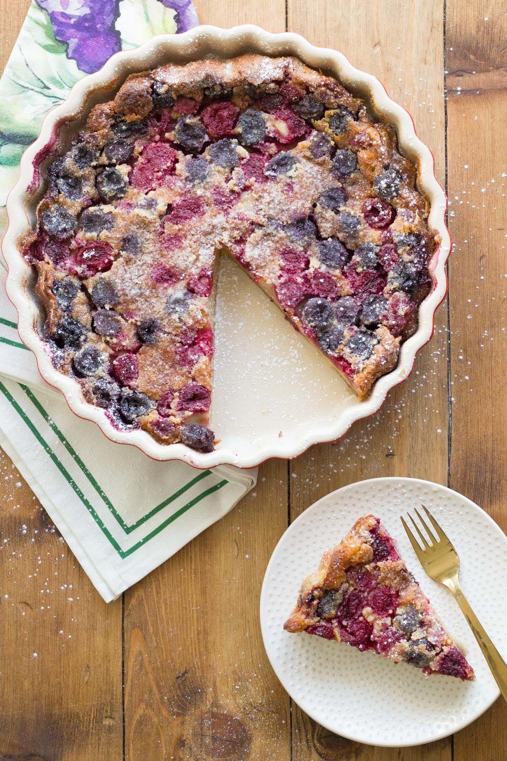 French-cherry-clafoutis