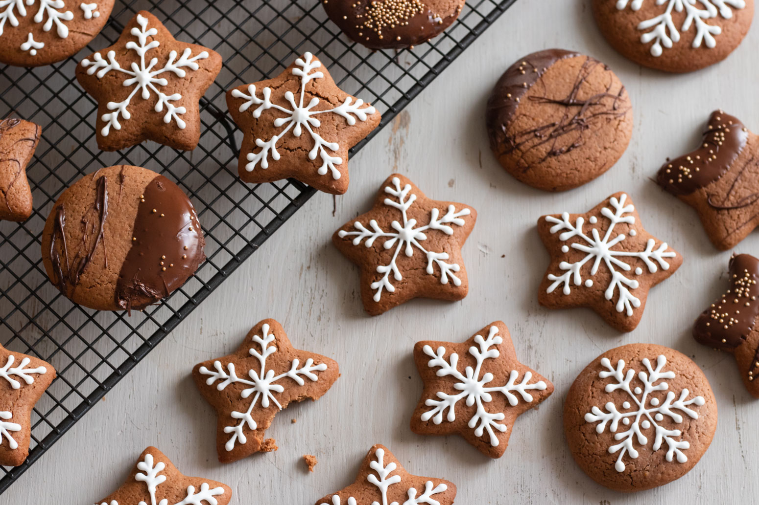 Lebkuchen: German Gingerbread Cookies — Michelle Bessudo