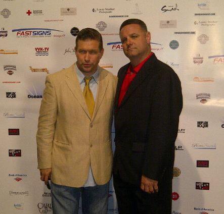 With Stephen Baldwin