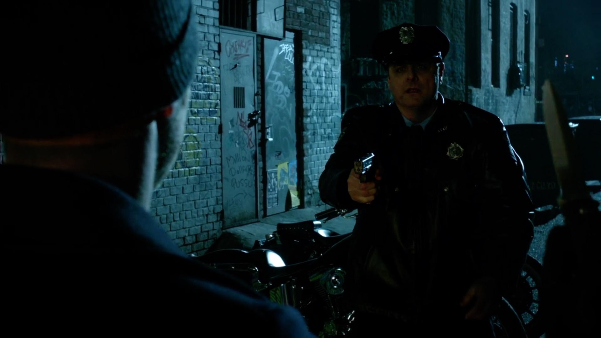 "As Officer Barkley in ""GOTHAM"""