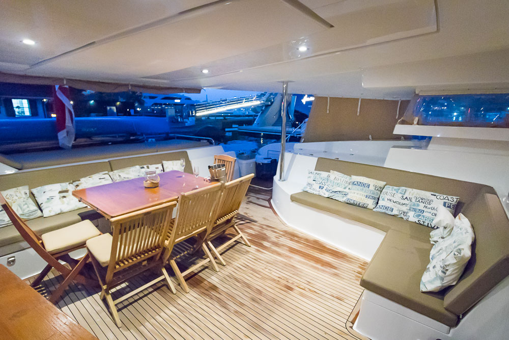 Aoibh-57' Sanay Fountaine Pajot-Outdoor space