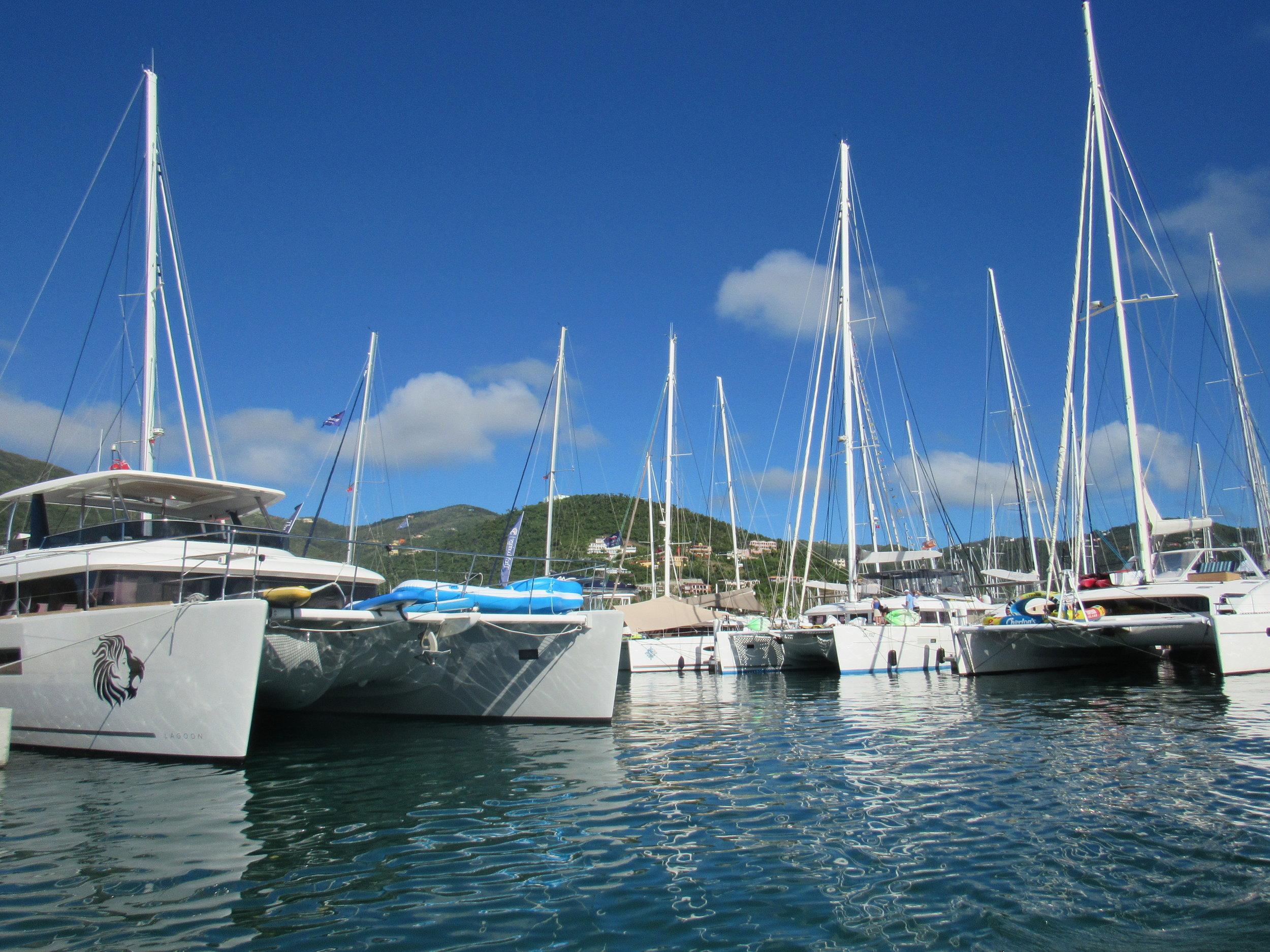 Rebuilt Nanny Cay Marina, Tortola, BVI