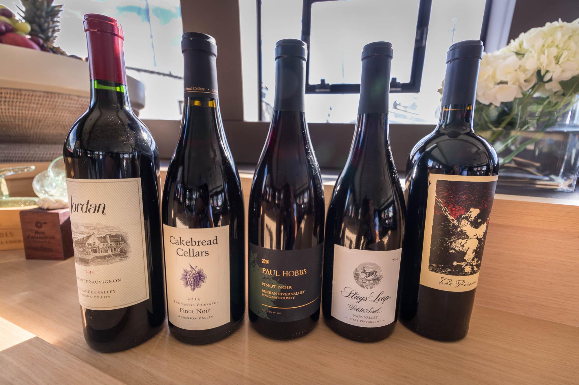 Le Reve Lagoon 620-Wine Selection
