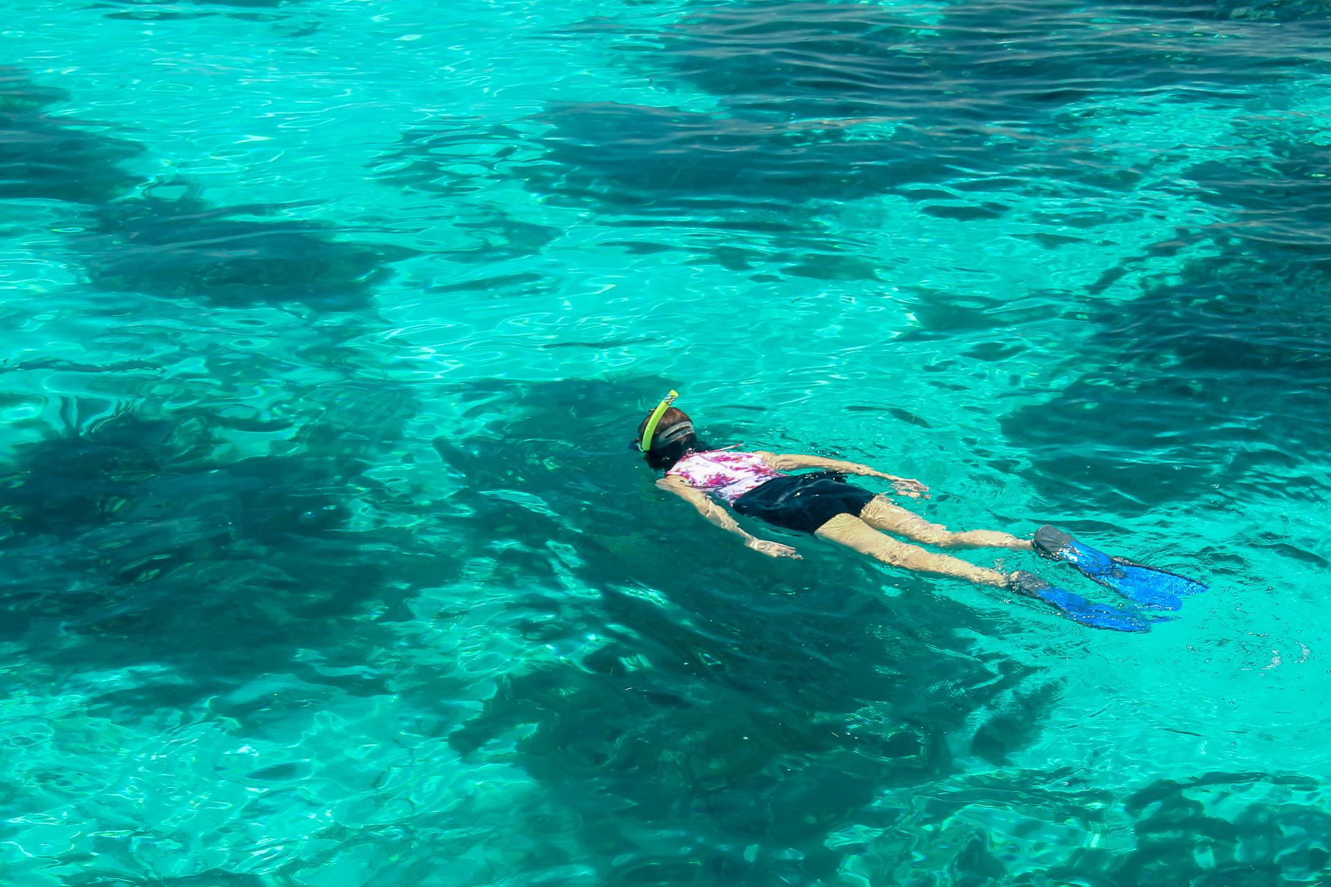 Snorkeling at Hol Chan