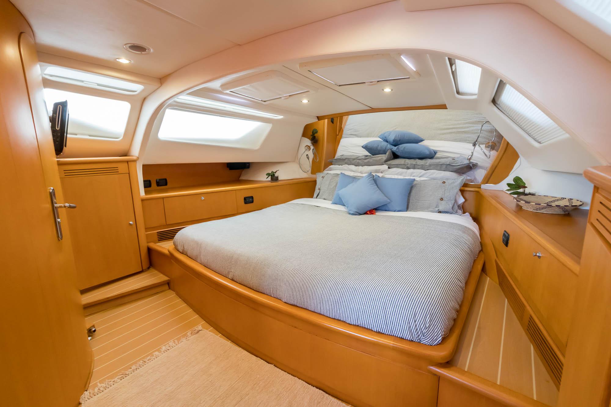 Kelea 65' Privilege Crewed Catamaran-Master Cabin