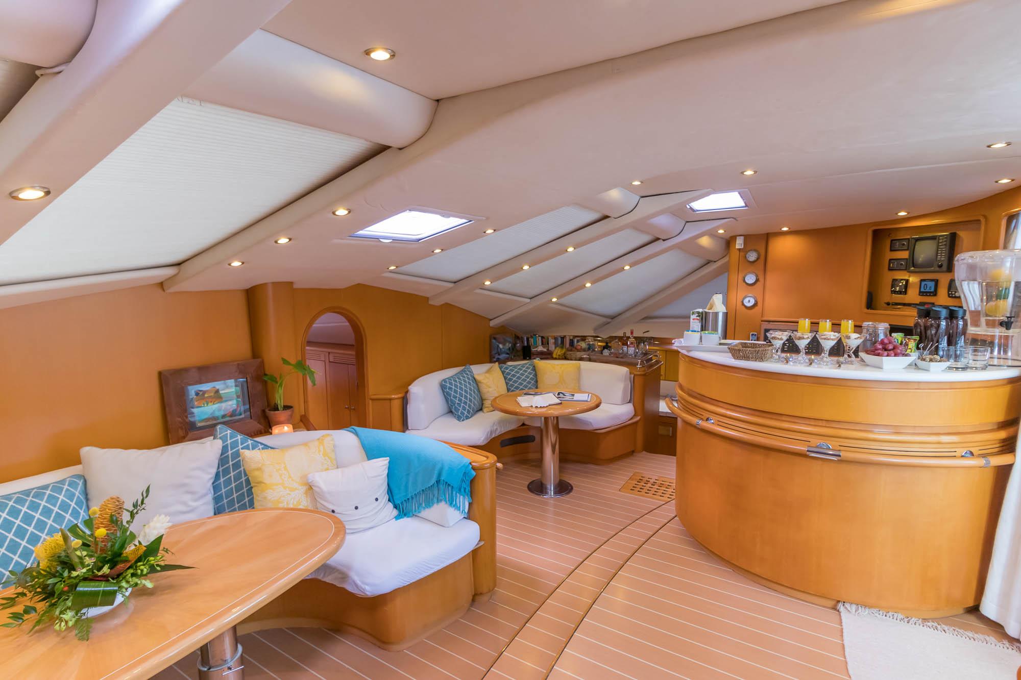 Kelea-65' Privilege Catamaran-Salon