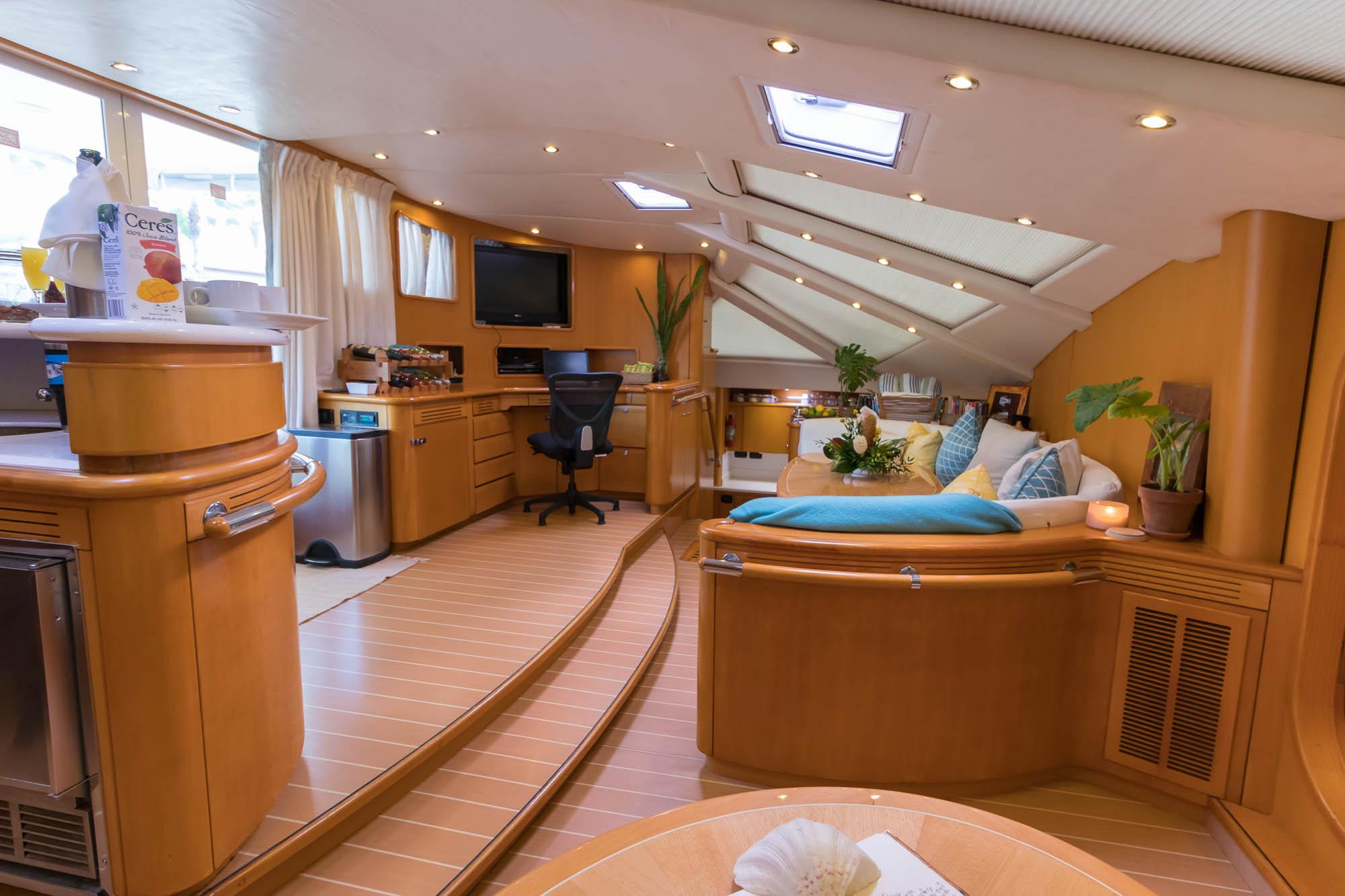 Kelea 65' Privilege Catamaran-Salon