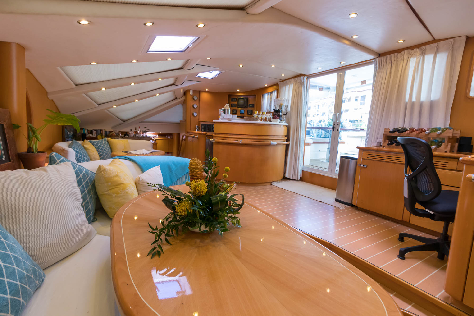 Kelea 65' Privilege Crewed Catamaran-Salon
