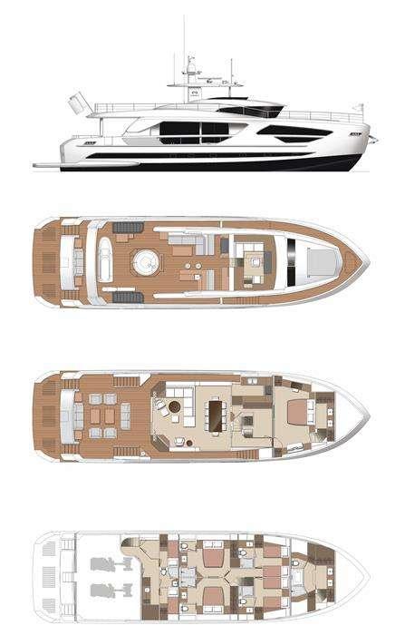 Angeleyes-86' Horizon Motor Yacht-Based in Nanny Cay Marina, BVI
