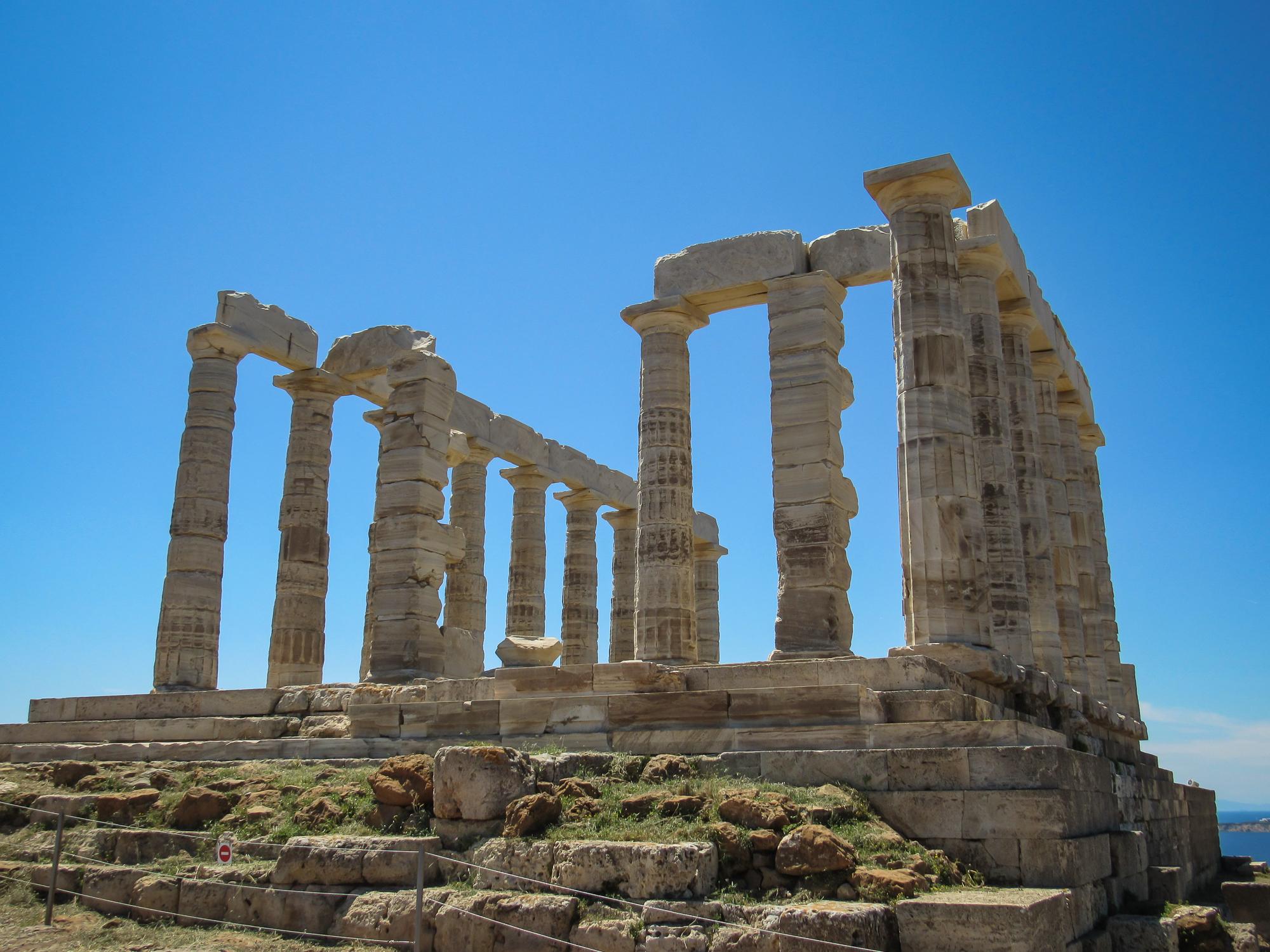 Temple Poseidon at Cap Sounion