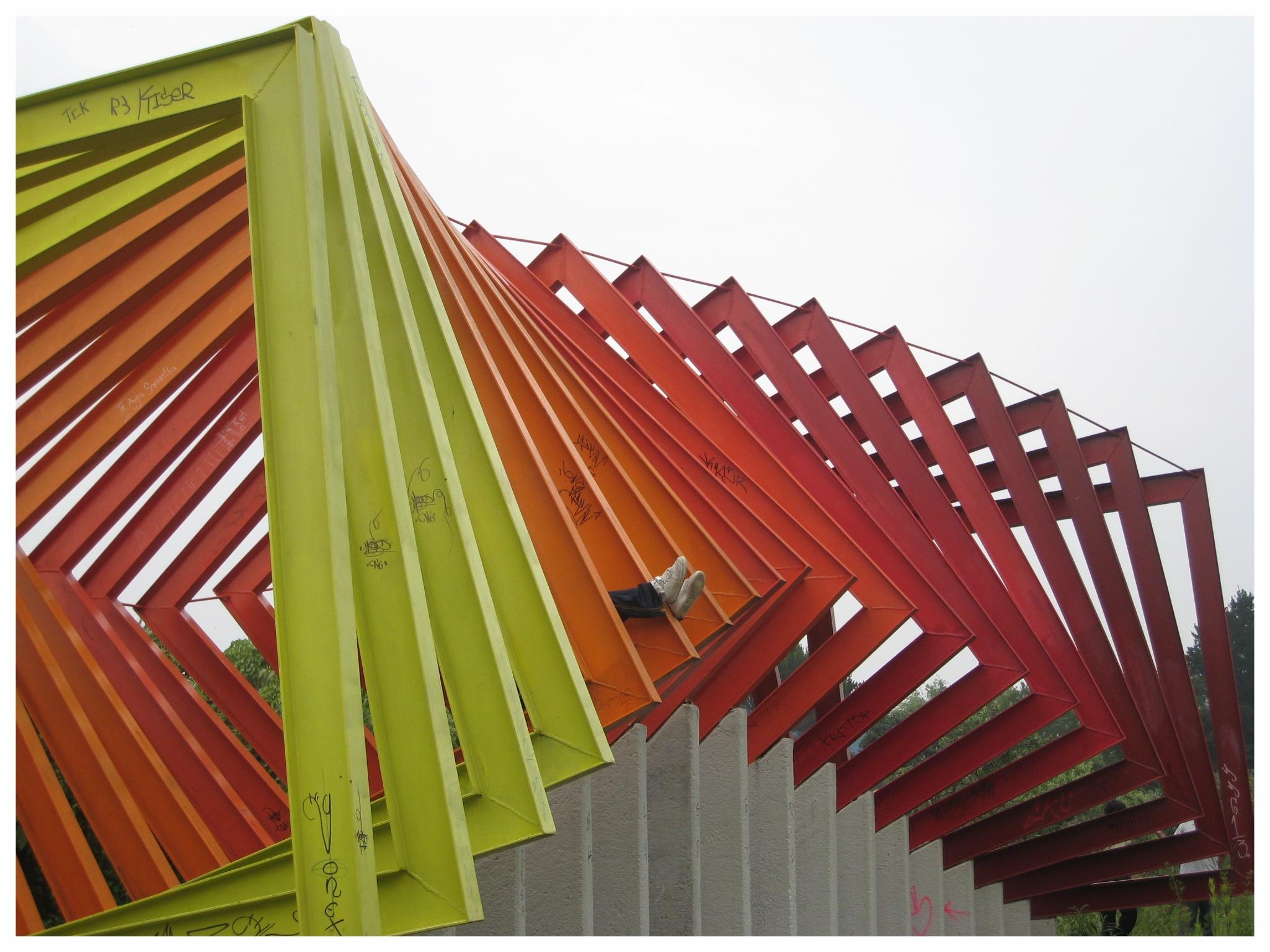 Mexico City/UNAM, 2008 (Photo: S. Osten)