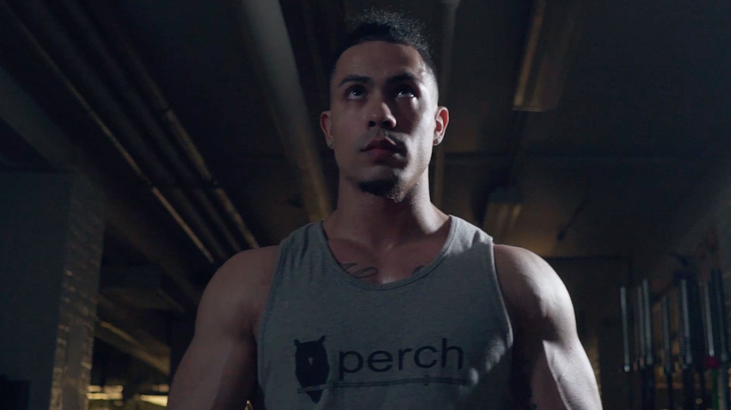 Fitness Technology Ad for  Perch
