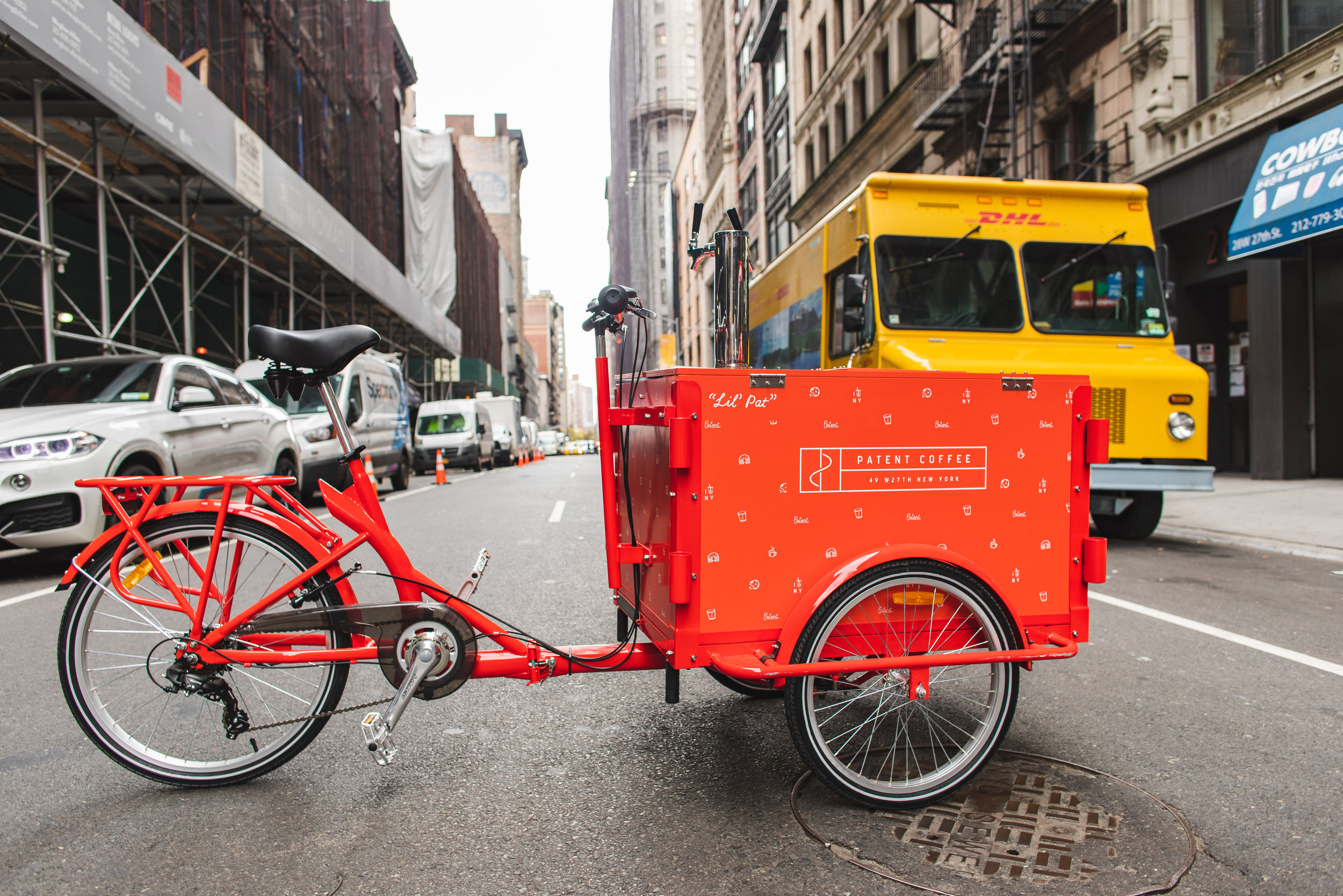 Pssst - I'm a bike too. Take me to the office, park or event. I'm mobile and love to roll :)