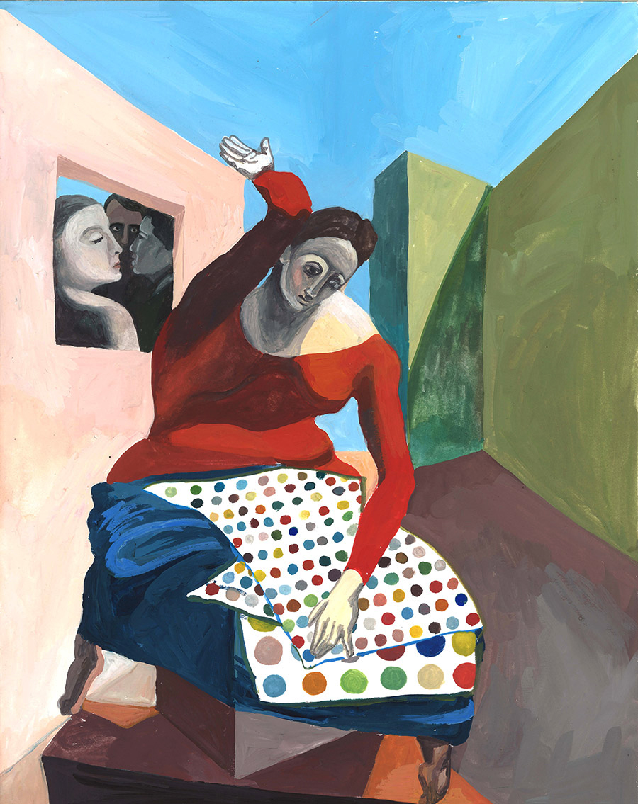 Art Death Match: Max Ernst vs Damian Hirst Dots
