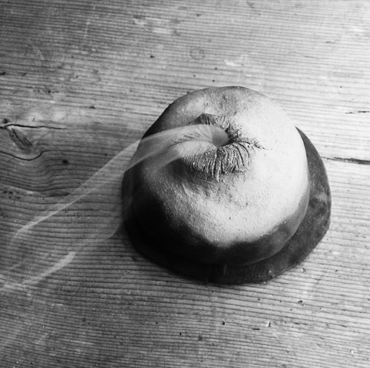Raku incense mouth