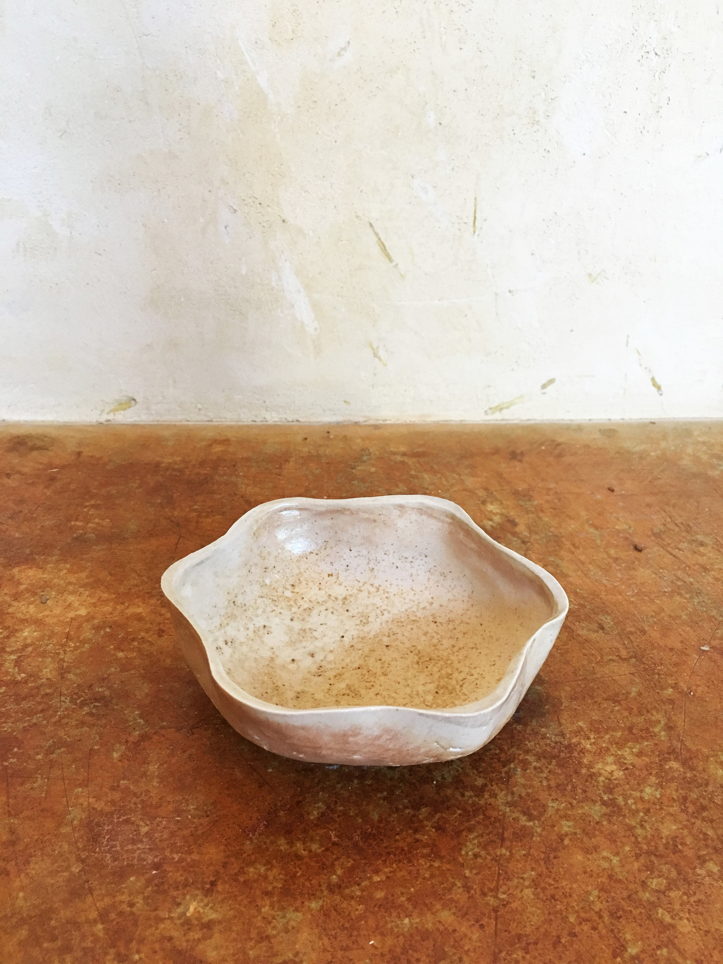 Wood fire soft star bowl