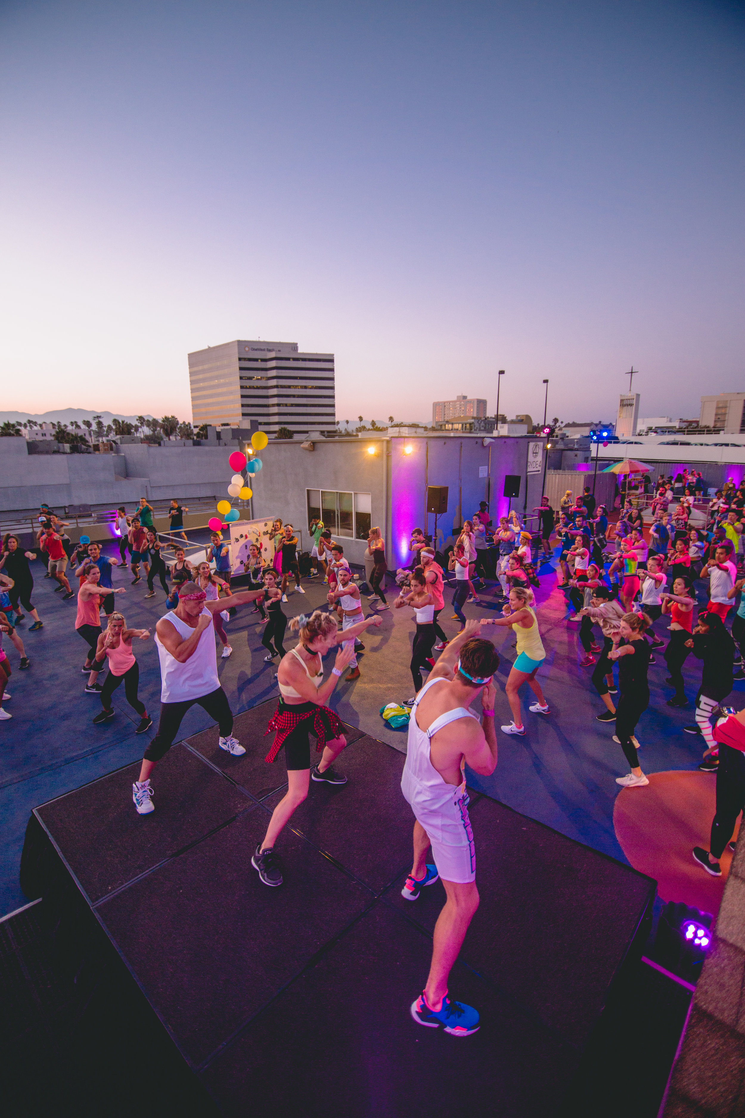 Lululemon 20th Anniversary Party  - Where: Burn Fitness Rooftop When:  August 22, 2018 at 7pm Over 200 guests present at event and workout