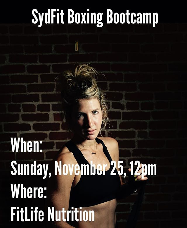 🧨TOMORROW!!! Boxing Bootcamp🥊 To register Venmo Sydney-Miller-5 $22 or $20 if you're registered for Soul Survivor 10am Culver. Comment below and tag someone you think should come to this⬇️⬇️⬇️⬇️⬇️ #boxingbootcamp #sydfit #strong #sundayfunday #turkeyburn #lululemon #lululemonambassador #girlswhobox #mittwork #boxingworkout #strengthandconditioning #lafitness #culvercityfitness #soulcycle