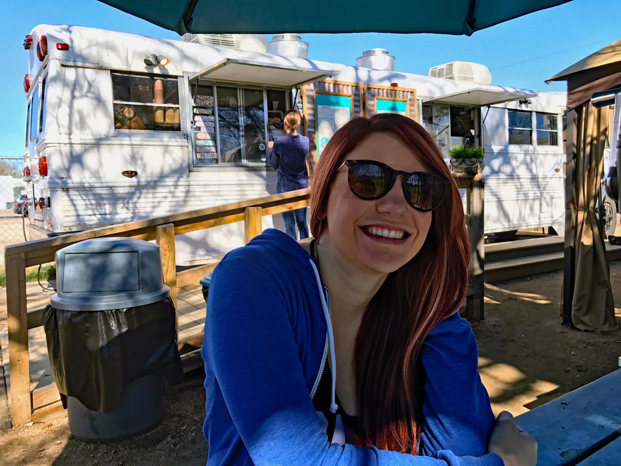Deanna at Veracruz All Natural Food Truck in Austin