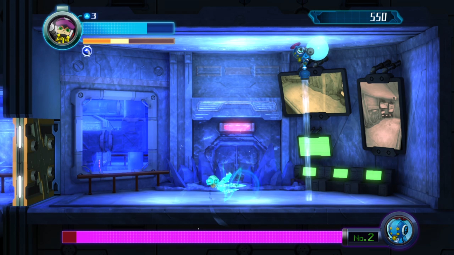 Mighty No. 9 - Boss Battle
