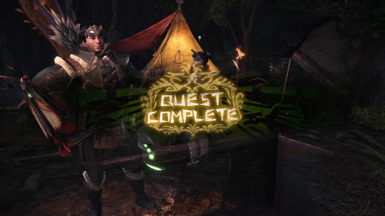 Monster Hunter World - Quest Complete