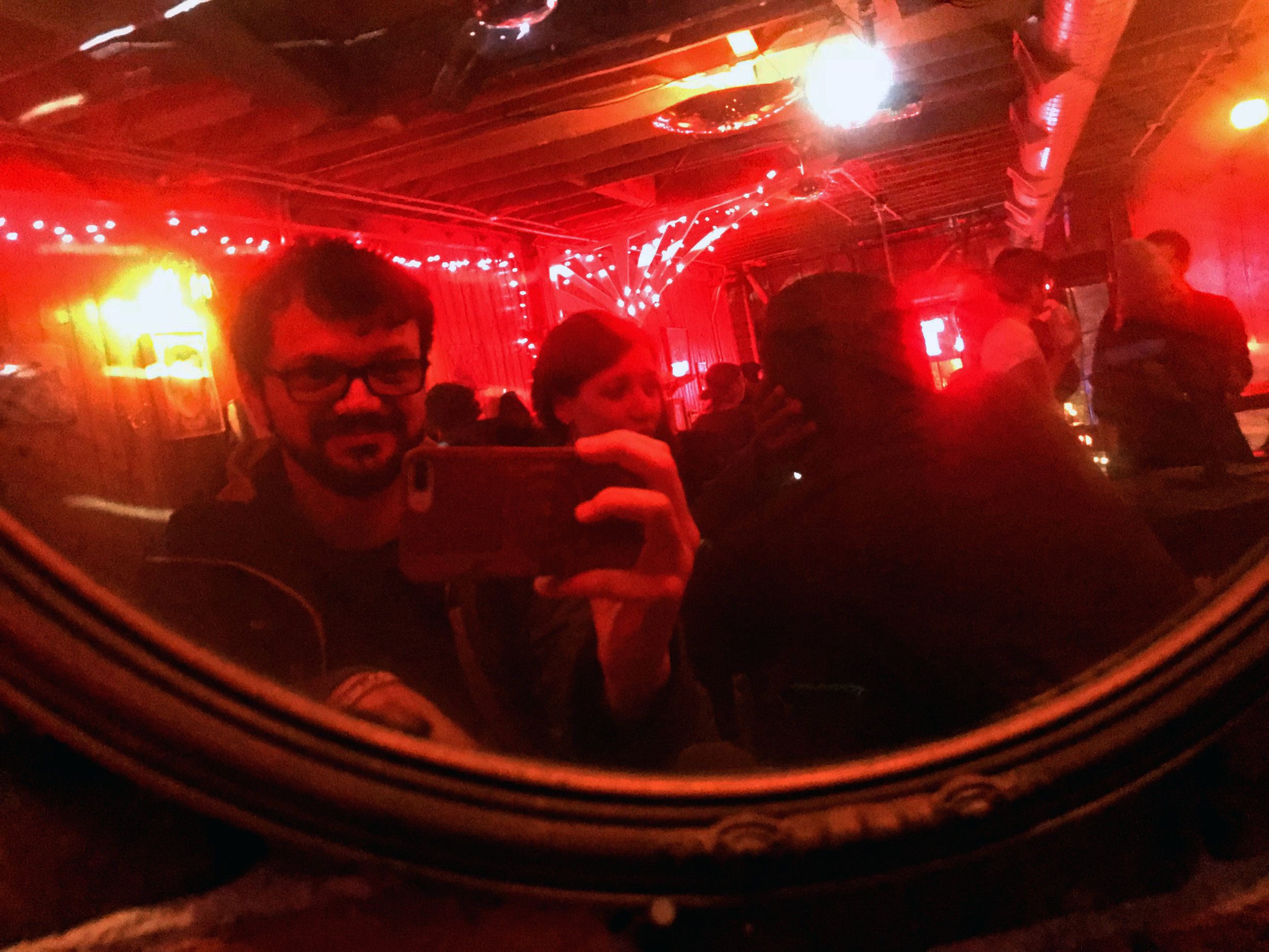 Bar Selfie