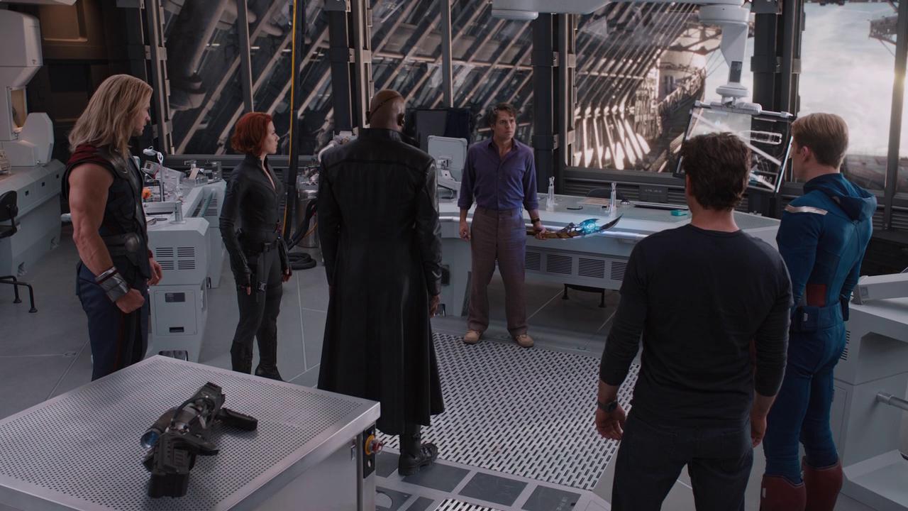 Marvel's The Avengers: Cast Arguing