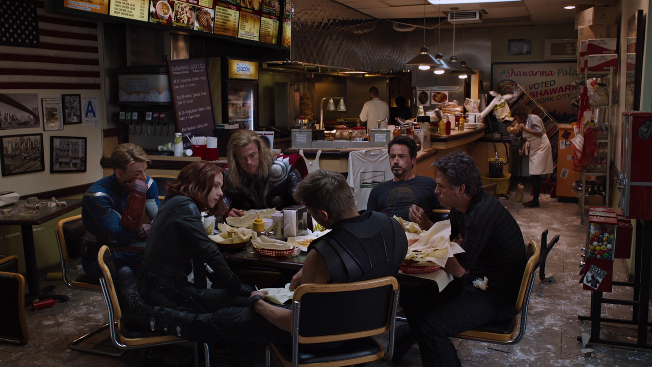 Marvel's The Avengers: Shawarma