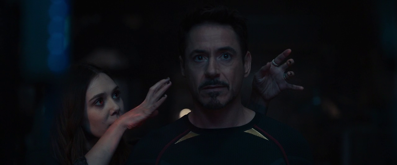 Avengers: Age of Ultron - Scarlet Witch Messing with Tony Stark's Mind