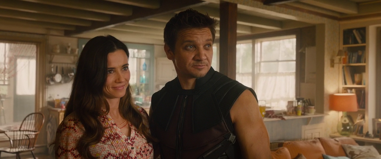Avengers: Age of Ultron - Clint and Laura Barton