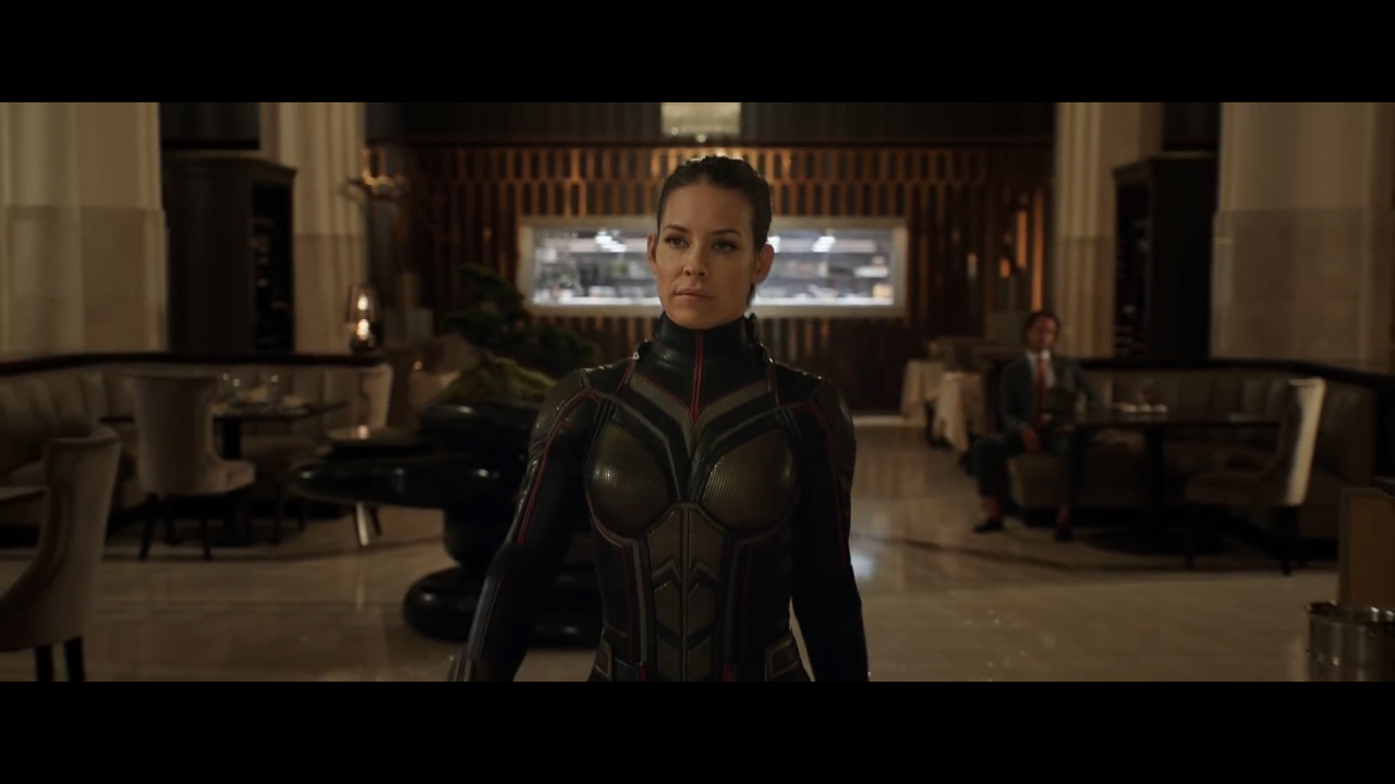 Hope Van Dyne (Evangeline Lilly) Wasp (Source: Marvel Entertainment)