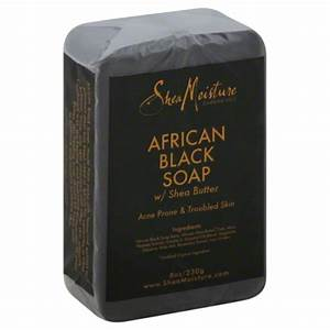 African Black Soap - Many of you know African Black Soap works wonders for acne prone skin, you can find it at your local beauty supply store or Shea Moisture's more mainstream version at practically any drug store. Since Black Soap is really strong it is important to do a test patch on your skin before applying to a large area.