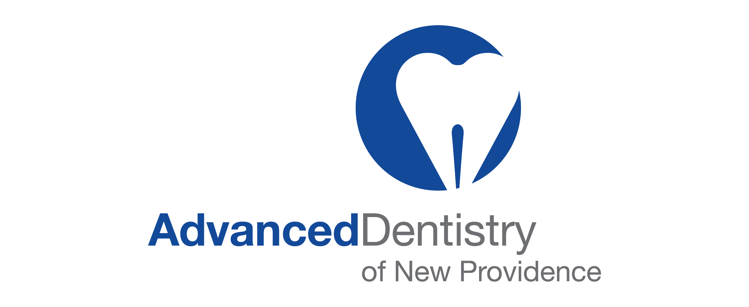 Advanced Dentistry of New Providence Prosthodontics  logo designed for client of Stafford Communications