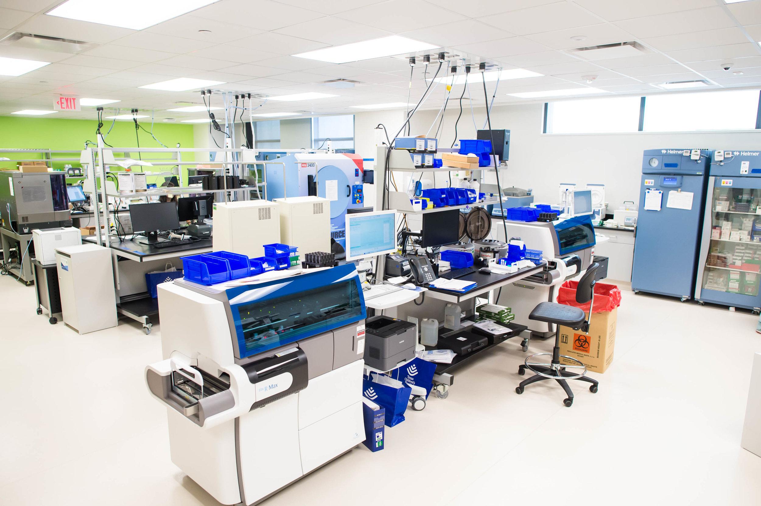 Pathology Lab (Blood Bank)