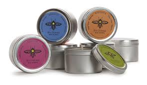 Big Dipper Wax Works candle: Balance, Lavender + Pepperint beeswax aromatherapy candle