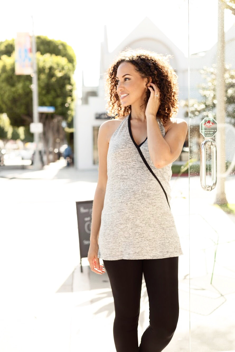 Michelle Tank, Gray Melange:  Shop this Look