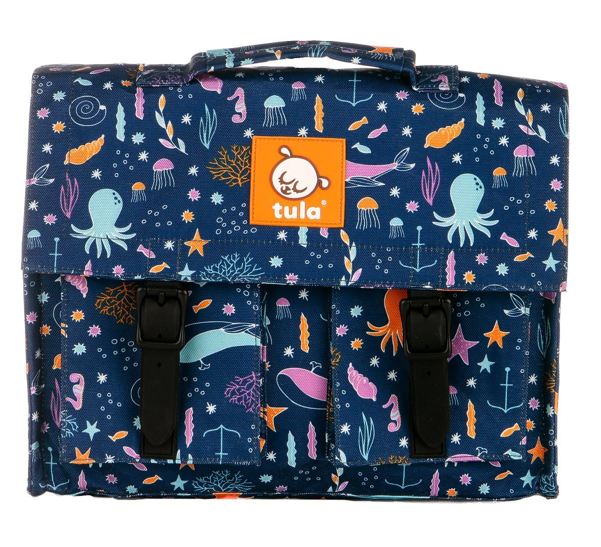 Tula Kids backpack in deep ocean pattern