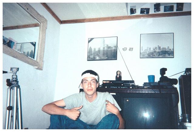 When I was 17.  The Nikon 20/20 behind me is still one of my favorite cameras I ever had. It was stolen from our car in Sherwood England while we were filming Hurry Up and Wait. I had two VCR's so I could dub music on my videos before I had a computer that I could edit on.  This was one of the best years of my life! #nikon #vcr #youth #intheyear2000