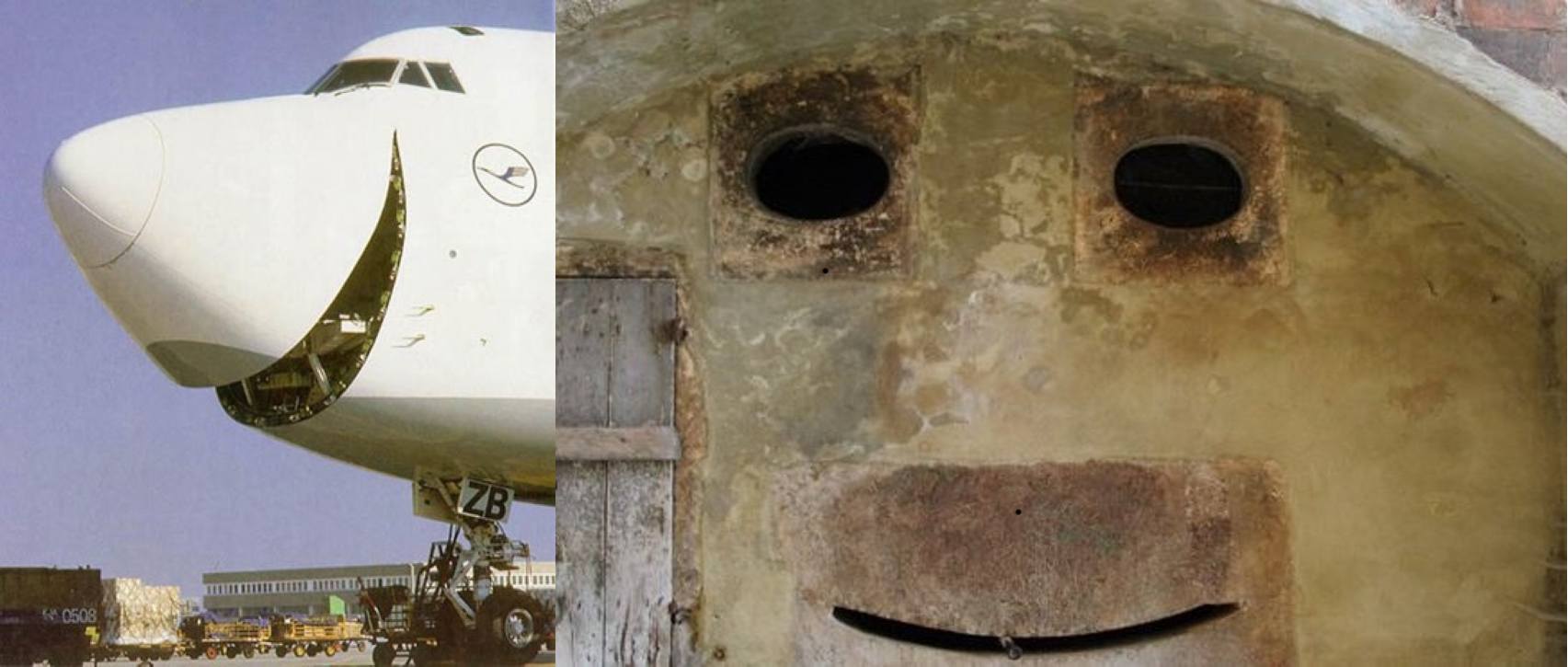 I see faces.