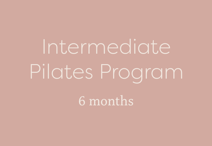 Intermediate Pilates Program