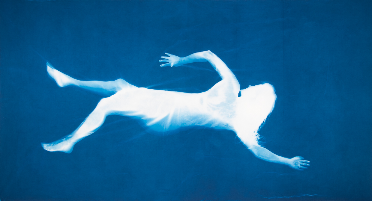 Louisa Armbrust - Blue Swimmer